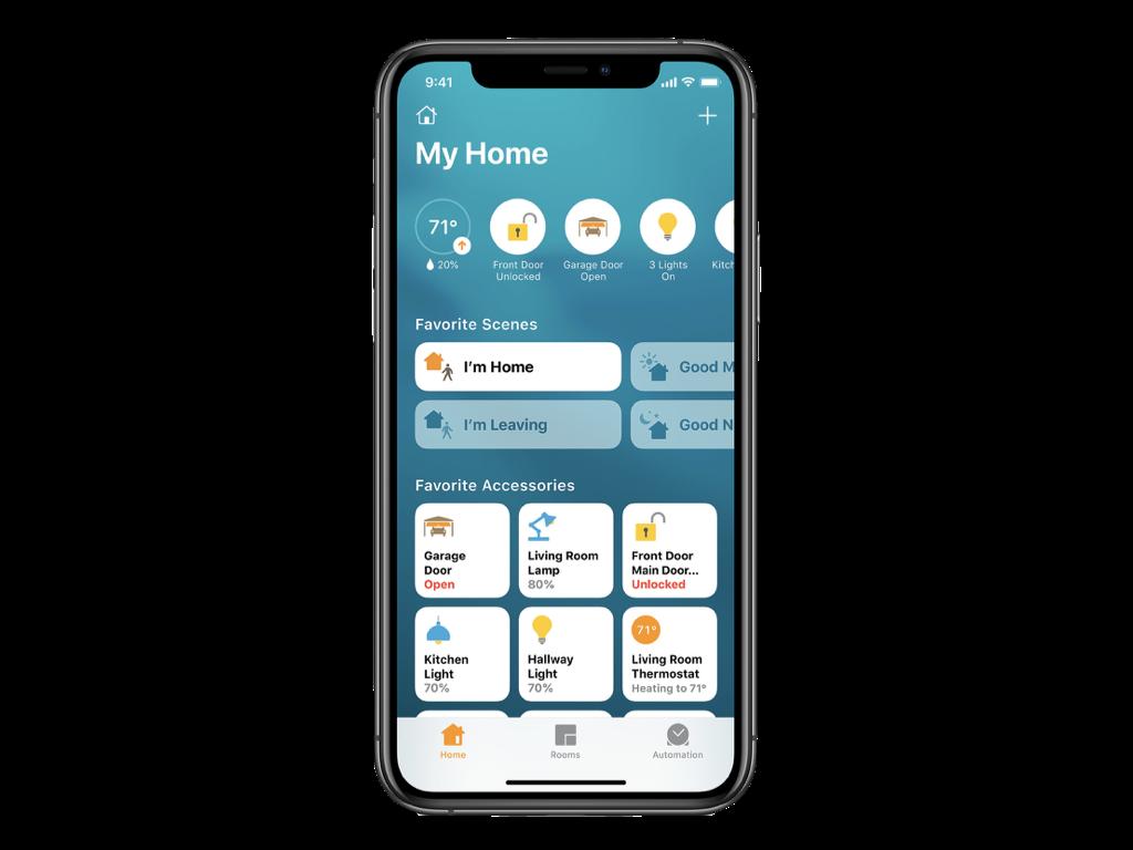Apka Domácnosť na iPhone